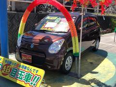 沖縄の中古車 スズキ アルトエコ 車両価格 45万円 リ済込 平成24年 7.5万K ブラウン