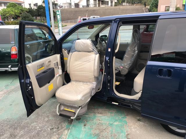 日産 福祉車両 助手席電動リフトアップシート 左パワースライドドア