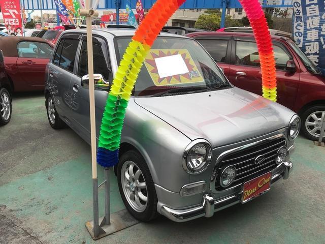 沖縄の中古車 ダイハツ ミラジーノ 車両価格 49万円 リ済別 2004(平成16)年 7.1万km シルバー