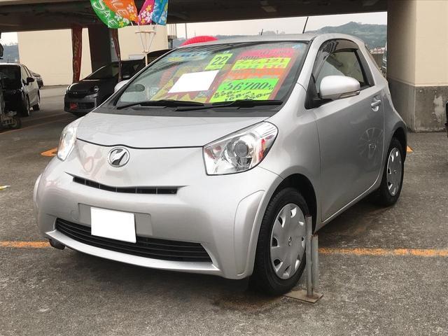 沖縄の中古車 トヨタ iQ 車両価格 49万円 リ済別 2010(平成22)年 5.7万km シルバー