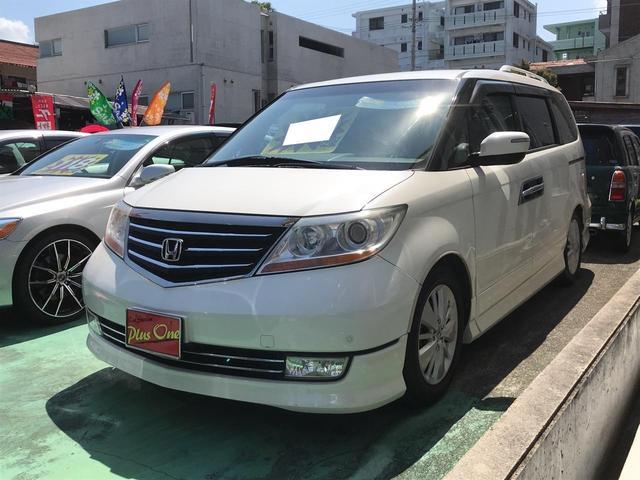 沖縄県の中古車ならエリシオンプレステージ S HDDナビスペシャルパッケージ 後部座席モニター付