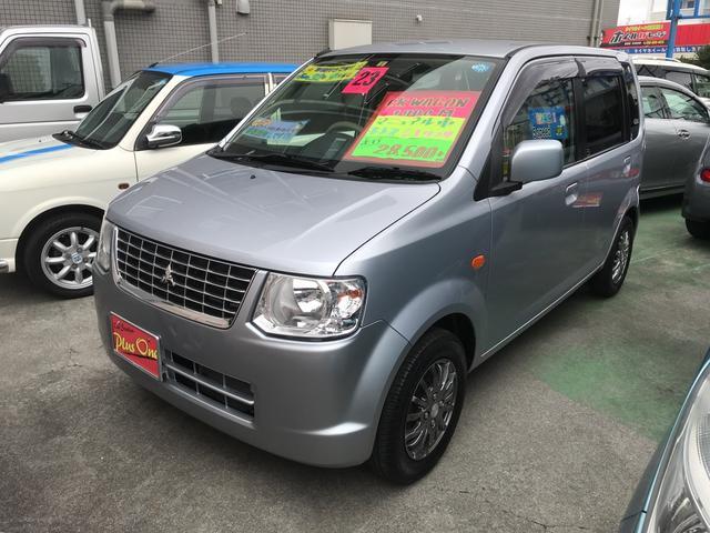 沖縄の中古車 三菱 eKワゴン 車両価格 45万円 リ済別 2011(平成23)年 2.8万km シルバー