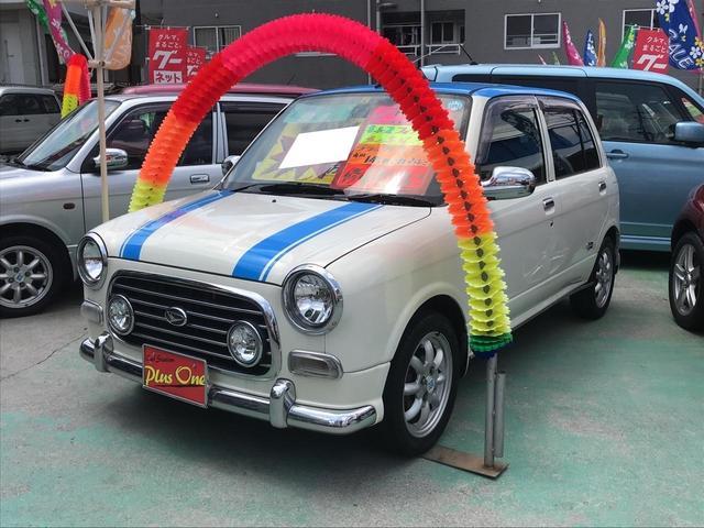 沖縄の中古車 ダイハツ ミラジーノ 車両価格 39万円 リ済別 2003(平成15)年 9.9万km パールII