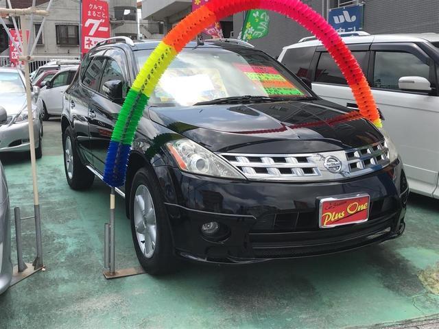 沖縄の中古車 日産 ムラーノ 車両価格 69万円 リ済別 2007(平成19)年 9.8万km ブラック