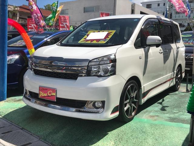 沖縄県の中古車ならヴォクシー ZS G's ナビTV 両側パワースライドドア 三列シート