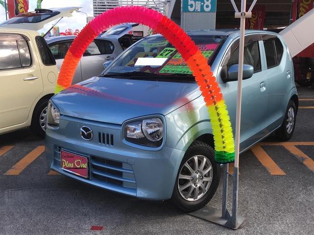 沖縄の中古車 マツダ キャロル 車両価格 55万円 リ済別 2015(平成27)年 9.3万km ライトブルーM