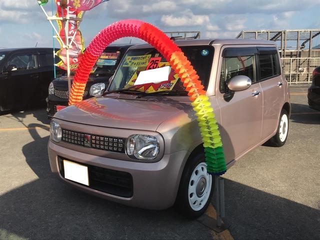 沖縄の中古車 スズキ アルトラパン 車両価格 65万円 リ済別 2013(平成25)年 6.9万km ピンクM