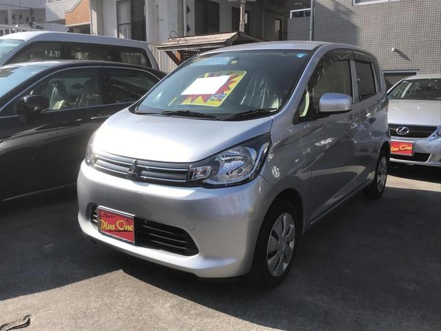 沖縄の中古車 三菱 eKワゴン 車両価格 49万円 リ済別 2014(平成26)年 8.1万km シルバー
