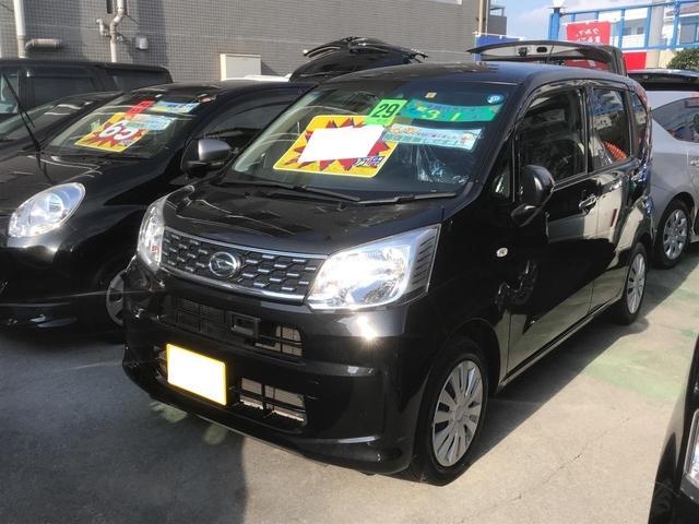 沖縄の中古車 ダイハツ ムーヴ 車両価格 79万円 リ済別 2017(平成29)年 6.0万km ブラック