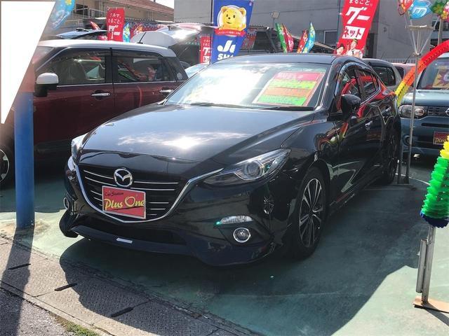 沖縄県の中古車ならアクセラ 15S ナビTV クルーズコントロール 緊急ブレーキ