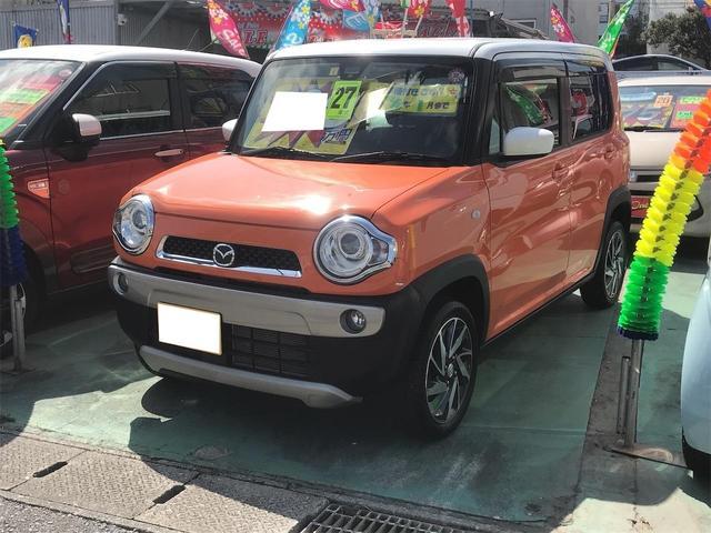 沖縄県の中古車ならフレアクロスオーバー XG ナビTV アイドリングストップ 緊急ブレーキ