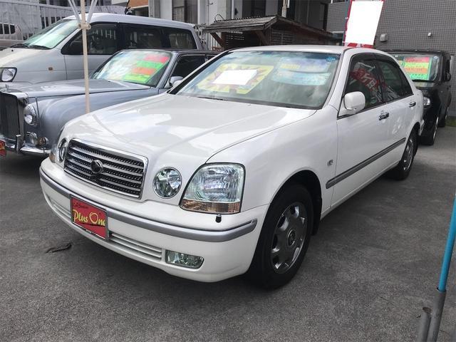 沖縄の中古車 トヨタ プログレ 車両価格 69万円 リ済別 2007(平成19)年 5.5万km パールホワイト