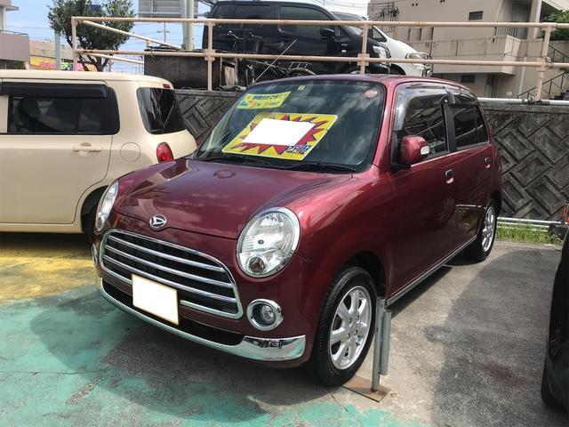 沖縄の中古車 ダイハツ ミラジーノ 車両価格 52万円 リ済別 2008(平成20)年 7.1万km ダークレッドM