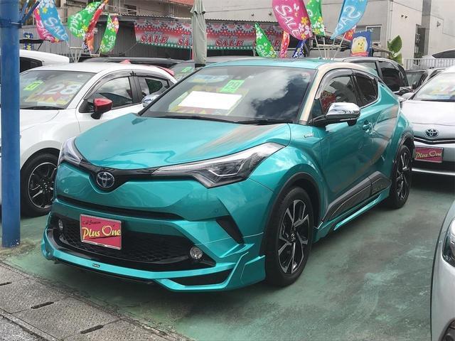 沖縄県の中古車ならC-HR G ナビTV 緊急ブレーキ モデリスタエアロ