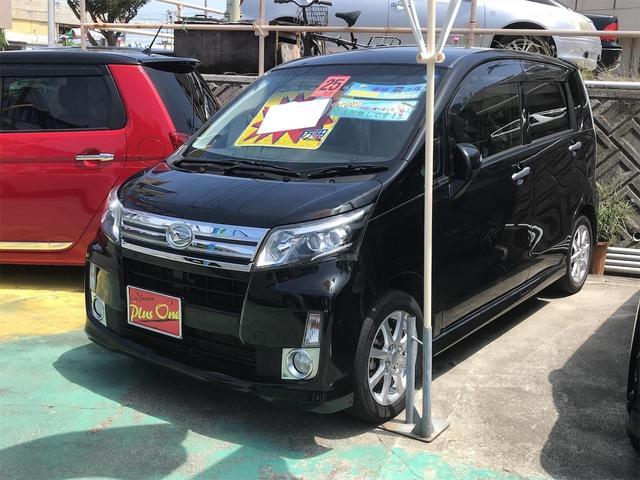 沖縄県の中古車ならムーヴ カスタム X スマートキー ナビTV(DVD視聴可) バックモニター アイドリングストップ 純正アルミ