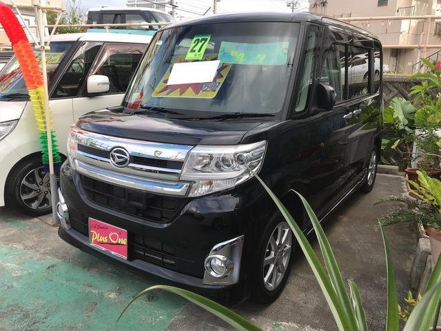 沖縄の中古車 ダイハツ タント 車両価格 109万円 リ済別 2015(平成27)年 5.3万km ブラック