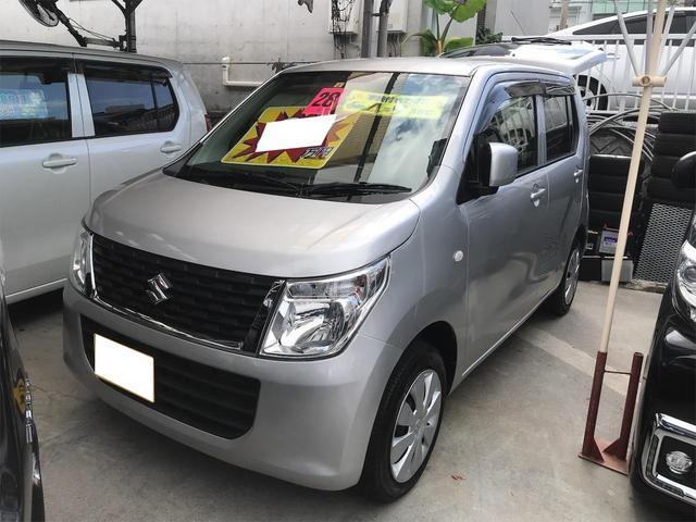 沖縄の中古車 スズキ ワゴンR 車両価格 66万円 リ済別 2016(平成28)年 7.3万km シルバー