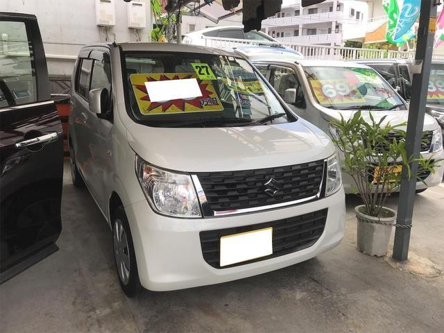 沖縄の中古車 スズキ ワゴンR 車両価格 66万円 リ済別 2015(平成27)年 8.6万km パールホワイト