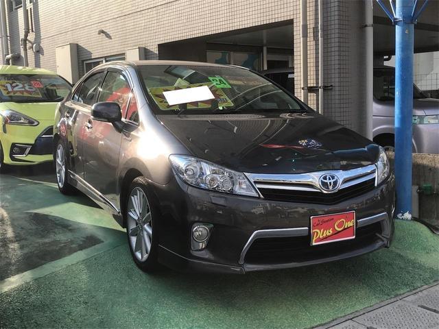 沖縄の中古車 トヨタ SAI 車両価格 88万円 リ済別 2012(平成24)年 9.1万km グレーM