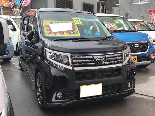 沖縄の中古車 ダイハツ ムーヴ 車両価格 95万円 リ済別 2015(平成27)年 7.4万km ブラックM
