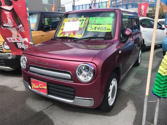 沖縄県の中古車ならアルトラパンショコラ G スマートキー ナビ ドライブレコーダー アイドリングストップ ベンチシート