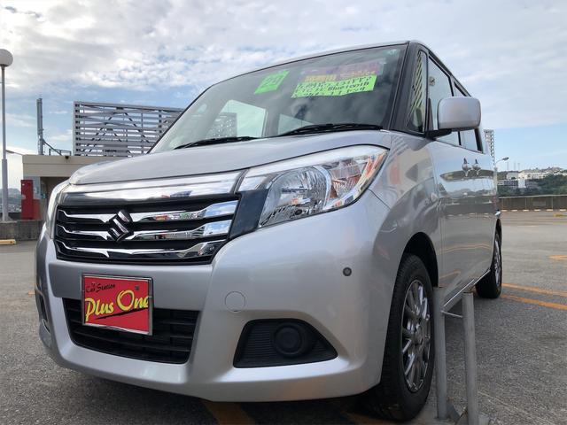 沖縄の中古車 スズキ ソリオ 車両価格 79万円 リ済別 2017(平成29)年 7.2万km シルバー