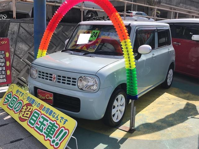 沖縄の中古車 スズキ アルトラパン 車両価格 63万円 リ済別 2012(平成24)年 8.1万km LグリーンII