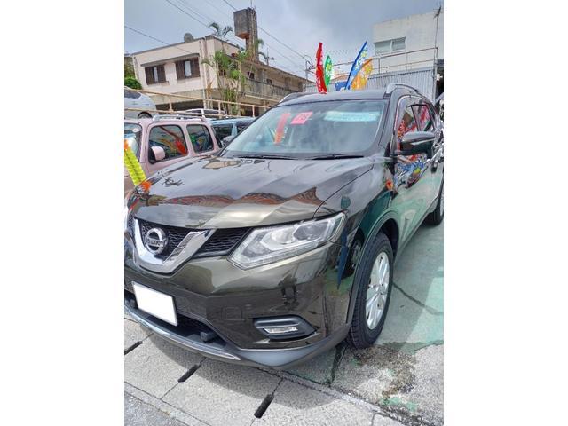 沖縄県中頭郡西原町の中古車ならエクストレイル 20X エマージェンシーブレーキパッケージ スマートキー ナビTV バックモニター 緊急ブレーキサポート Bluetooth サンルーフ ルーフレール ETC ワンオーナー