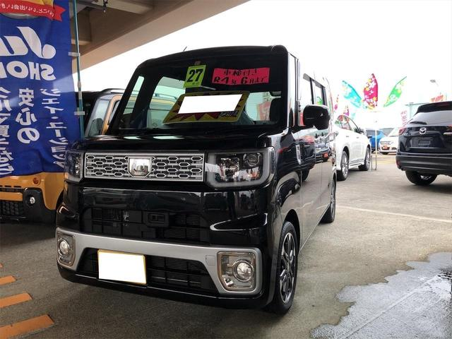 沖縄の中古車 ダイハツ ウェイク 車両価格 109万円 リ済別 2015(平成27)年 8.7万km ブラック