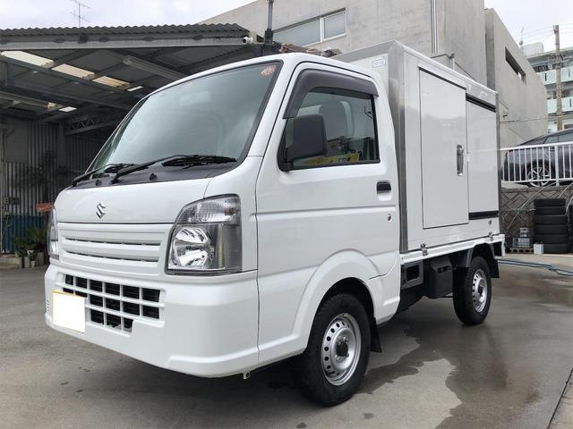 沖縄の中古車 スズキ キャリイトラック 車両価格 102万円 リ済別 2019(令和1)年 0.6万km ホワイト