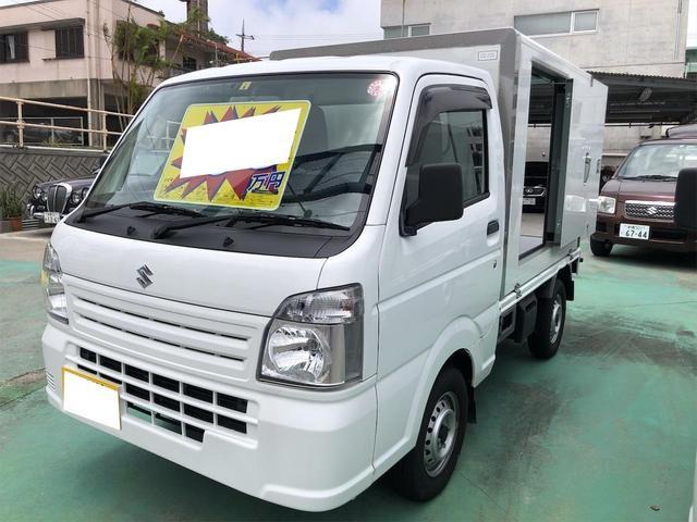 沖縄県の中古車ならキャリイトラック  オートマ キーレス エアコン パワステ パワーウィンドウ パネルバン ドライブレコーダー