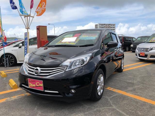 沖縄の中古車 日産 ノート 車両価格 79万円 リ済別 2016(平成28)年 7.0万km ブラック