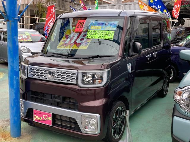 沖縄の中古車 ダイハツ ウェイク 車両価格 112万円 リ済別 2016(平成28)年 6.7万km ブラウンM
