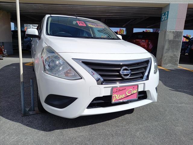 沖縄の中古車 日産 ラティオ 車両価格 59万円 リ済別 2016(平成28)年 6.7万km パールホワイト