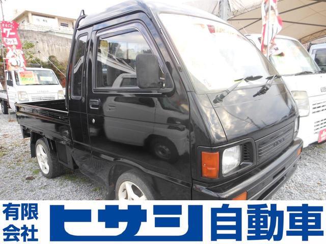 沖縄の中古車 ダイハツ ハイゼットトラック 車両価格 39万円 リ済込 平成5年 8.3万km ブラック