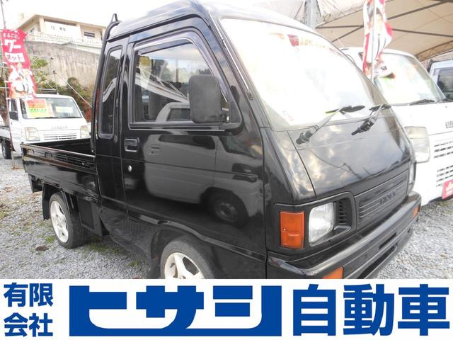 沖縄の中古車 ダイハツ ハイゼットトラック 車両価格 39万円 リ済込 1993(平成5)年 8.3万km ブラック
