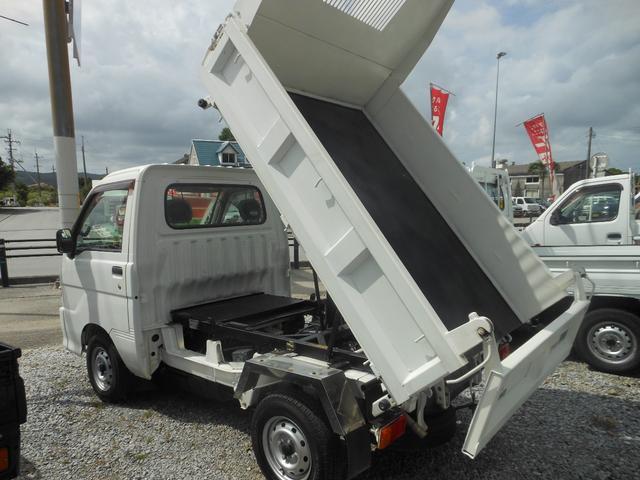 ダイハツ PTOダンプ 4WD 5速