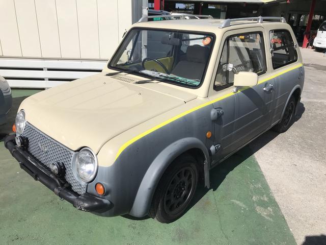 沖縄県の中古車ならパオ パイクカー 開閉式三角窓 上下開きバックドア 現状販売