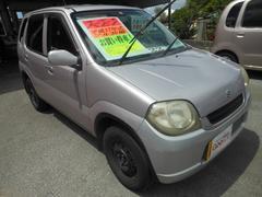 沖縄の中古車 スズキ Kei 車両価格 22万円 リ済込 平成17年 8.2万K ピンク