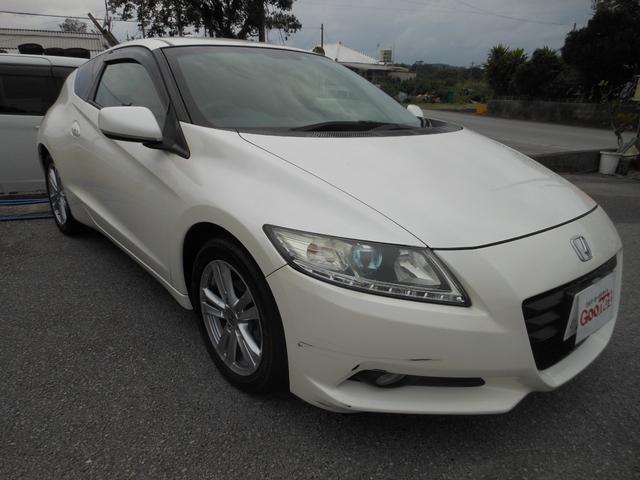 沖縄の中古車 ホンダ CR-Z 車両価格 36万円 リ済込 平成22年 15.3万km ホワイト
