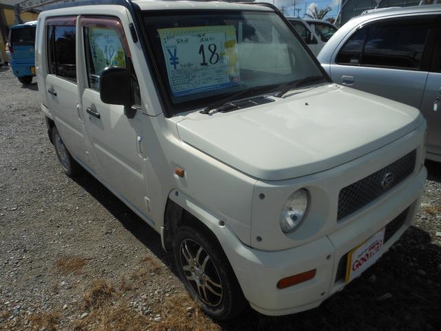 沖縄の中古車 ダイハツ ネイキッド 車両価格 18万円 リ済込 平成11年 12.8万km ホワイト