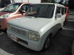 沖縄の中古車 スズキ アルトラパン 車両価格 6万円 リ済込 平成15年 13.5万K ホワイト
