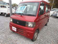沖縄の中古車 三菱 ミニキャブバン 車両価格 13万円 リ済込 平成15年 11.1万K レッド