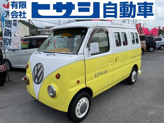 沖縄の中古車 スズキ エブリイ 車両価格 38万円 リ済込 2004(平成16)年 11.4万km イエローII