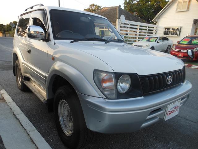 沖縄県の中古車ならランドクルーザープラド RX