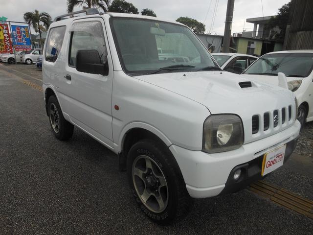 沖縄の中古車 スズキ ジムニー 車両価格 17万円 リ済込 平成11年 17.3万km ホワイト