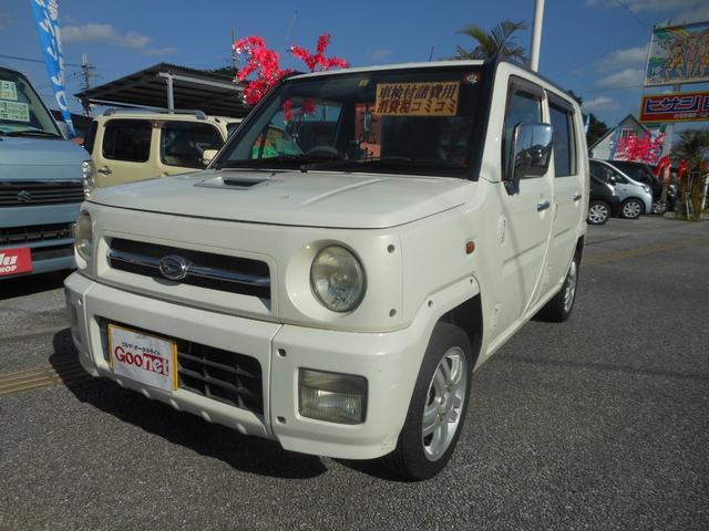 沖縄の中古車 ダイハツ ネイキッド 車両価格 22万円 リ済込 平成14年 13.7万km ホワイト
