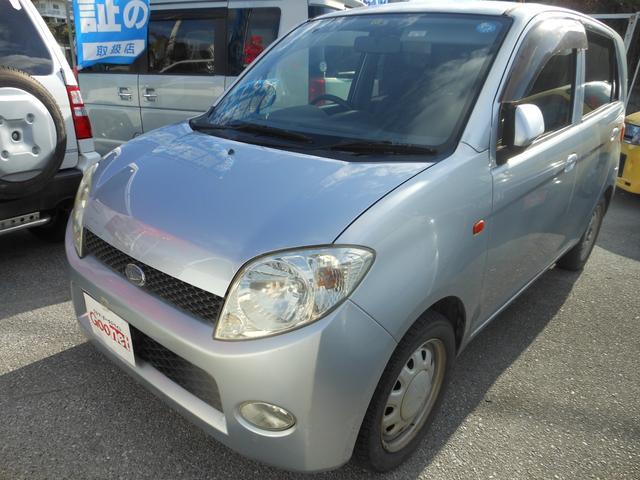 沖縄の中古車 ダイハツ MAX 車両価格 25万円 リ済込 平成16年 9.1万km シルバー