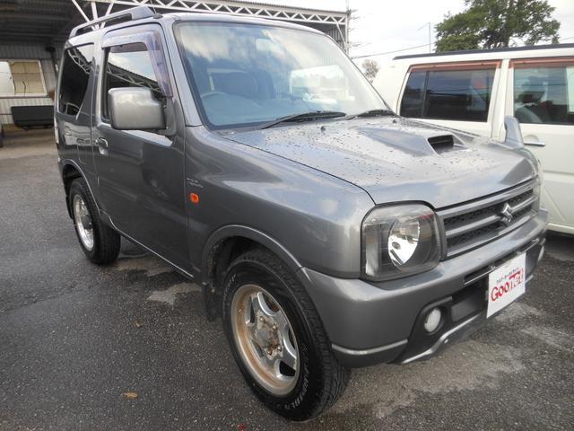 沖縄の中古車 スズキ ジムニー 車両価格 41万円 リ済込 平成18年 10.8万km ガンM