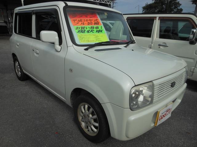 沖縄の中古車 スズキ ワゴンR 車両価格 18万円 リ済込 平成16年 15.4万km ホワイト